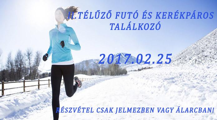 II.Télűző futó és kerékpáros találkozó