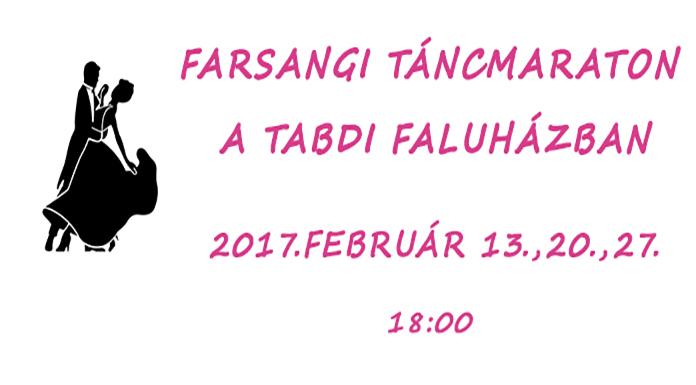 Farsangi Táncmaraton Tabdin