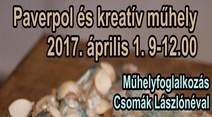Paverpol és kreatív műhely Csomák Lászlónéval
