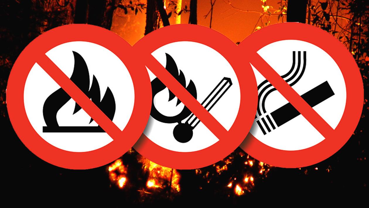 """Képtalálat a következőre: """"tűzgyújtási tilalom"""""""