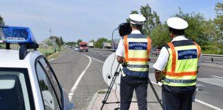 Egy hét alatt több mint kétezer helyszíni bírságot szabtak ki az autóvezetőkre