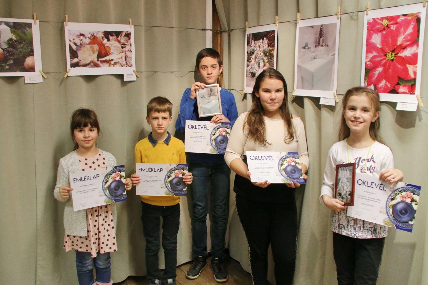 FLORA fotópályázat díjátadó és kiállításmegnyitó a magyar kultúra napján