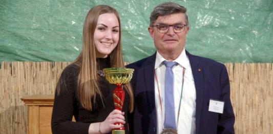 Maráz Annabella aranyérmes Kadarkája
