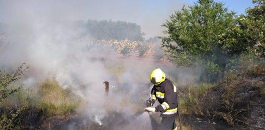 Szabadtéri tűzhöz riasztották a kiskőrösi önkénteseket, holott tűzgyújtási tilalom van érvényben