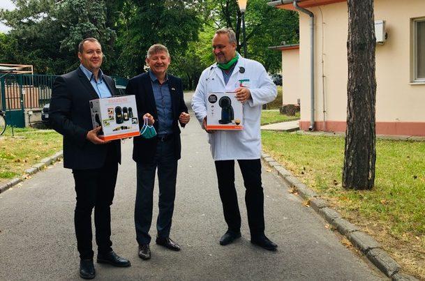 Milliós támogatással segíti az Akker-Plus a vírus elleni védekezést