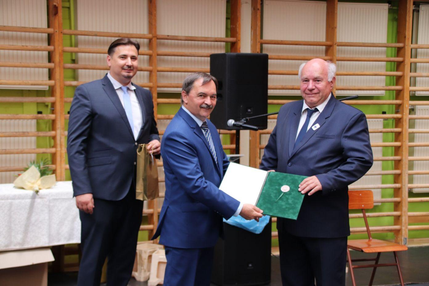 Miniszteri kitüntetést kapott Horváth István