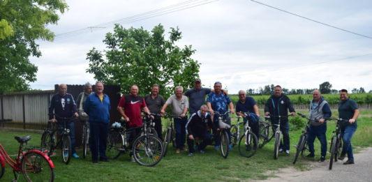 Őstermelői kerékpártúra Döbrögecre