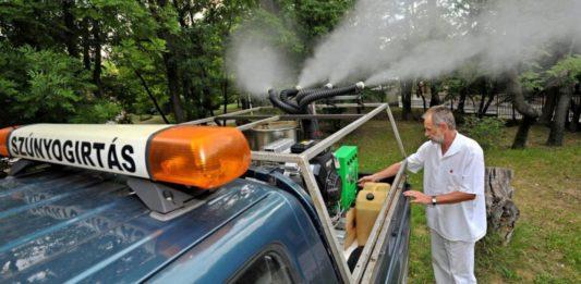 Megkezdődik a szúnyoggyérítés Kiskőrös belterületén és Erdőtelken is
