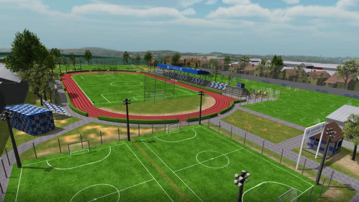 Új stadion a kiskőrösi Városi Sporttelepen
