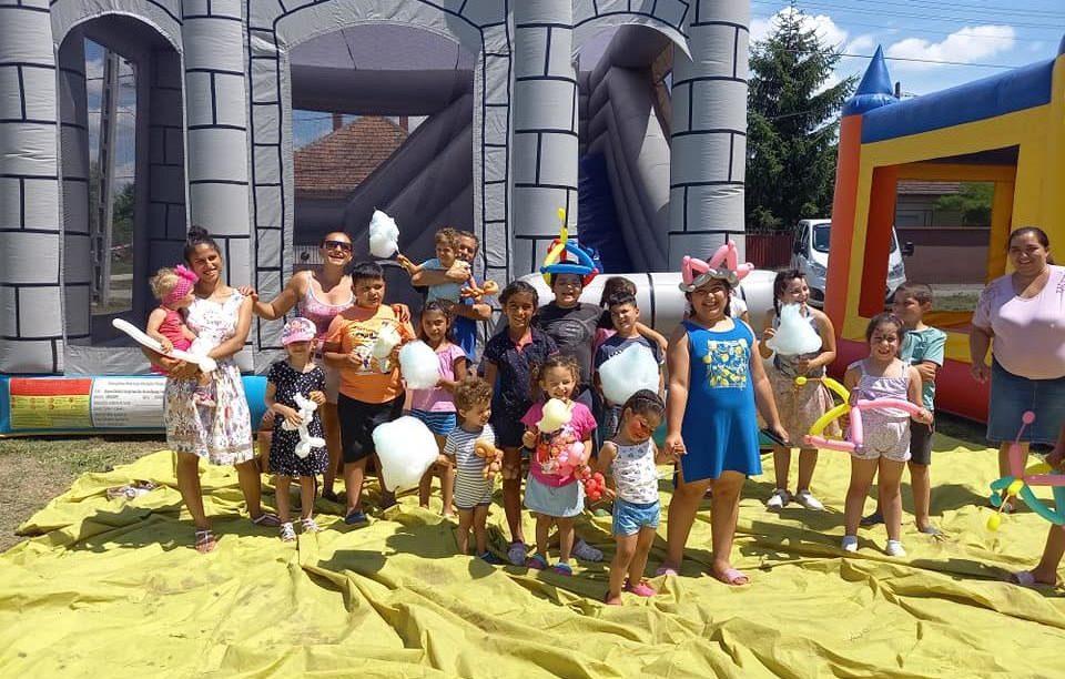Második alkalommal rendezett gyereknapot a Roma Nemzetiségi Önkormányzat