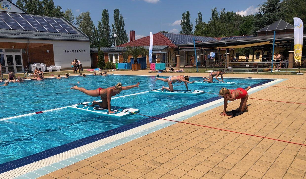 Népszerű volt a STRAMM-FÜRDŐ rendezvény a Kiskőrösi Rónaszéki Fürdőben