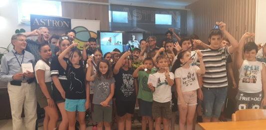 Kínai gyerekekkel mérkőztek meg a keceliek a Mondrian díjnyertes játékban