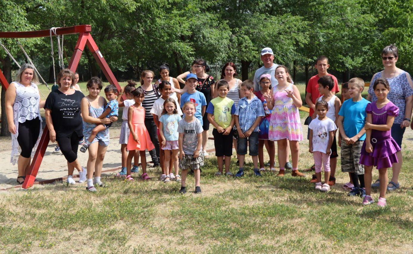 A Család- és Gyermekjóléti Szolgálat táborainak középpontjában az élményszerzés áll