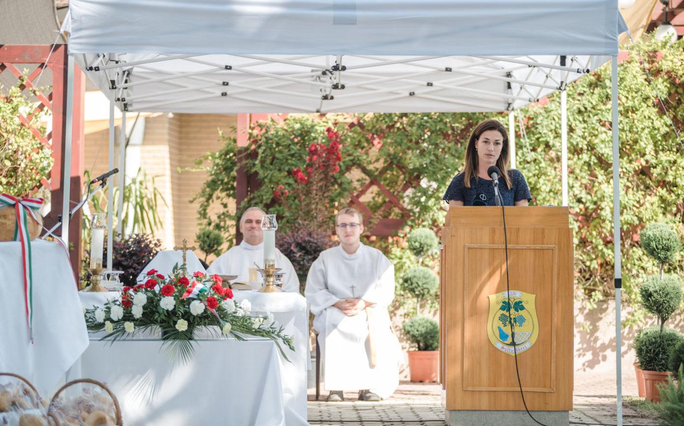 Emese álma Soltvadkerten is beteljesedett —  dr. Varga Judit igazságügyi miniszter mondott ünnepi beszédet