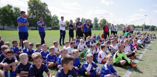 Mintegy 130 fiatal lépett pályára a kiskőrösi Bozsik tornán