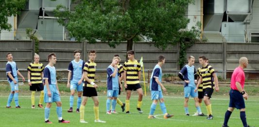 Nyolc gólos mérkőzésen nyert a kiskőrösi U19-es csapat